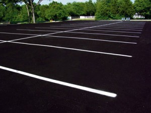 San Antonio Parking Striping
